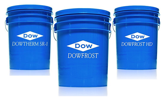 Dowfrost and Dowtherm